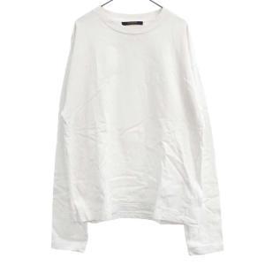 LOUIS VUITTON(ルイヴィトン)19SS Virgil Abloh インサイドアウト ロングスリーブ Tシャツ 長袖Tシャツ ホワイト RM191 JYN HGY88W|shopbring