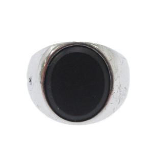 TOM WOOD (トム ウッド) Cushion Black Onyx Ring クッションブラックオニキスリング|shopbring