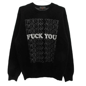 SUPREME (シュプリーム) ×HYSTERIC GLAMOUR 17AW Fuck You Sweaterヒステリックグラマーニットセーター|shopbring