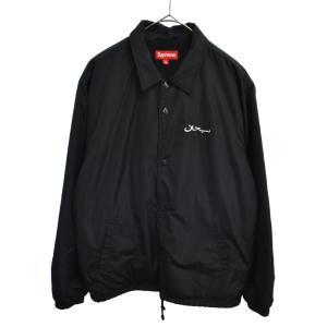 SUPREME(シュプリーム)17AW Arabic Logo Coaches Jacket アラビックロゴコーチジャケット ブラック|shopbring