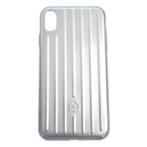 RIMOWA (リモワ) ALIMINIUM GROOVE CASE iPhone XS Max アルミニウム|shopbring