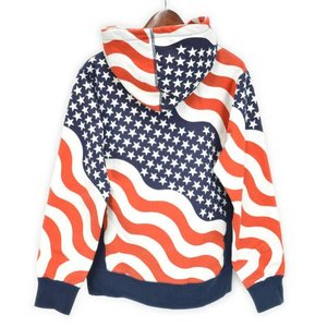 SUPREME(シュプリーム)14AW Box Logo Pullover Flag ボックスロゴ星条旗プルオーバーパーカー アメリカ|shopbring|02