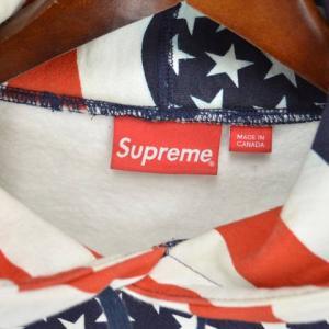 SUPREME(シュプリーム)14AW Box Logo Pullover Flag ボックスロゴ星条旗プルオーバーパーカー アメリカ|shopbring|03