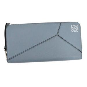 LOEWE(ロエベ)122N30F13 WALLET STONE BLUE 5900 パズル ラウンドファスナー長財布 ウォレット ストーンブルー|shopbring