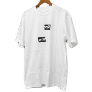 SUPREME(シュプリーム)× COMME des GARCONS コムデギャルソン 18AW Split Box Logo Tee ボックスロゴ半袖Tシャツ☆在庫一掃SALE 2/19 09:59まで