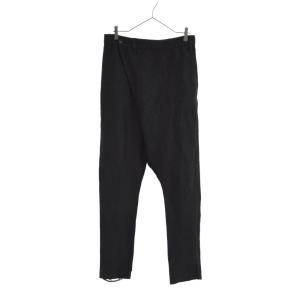 IF SIX WAS NINE(イフシックスワズナイン)SARROUEL/M リネン混サルエルラップパンツ ブラック 04231F|shopbring