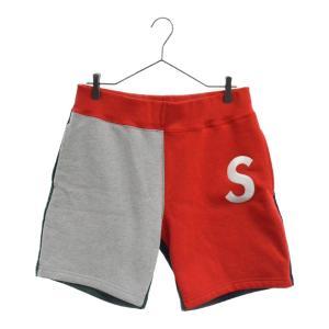 SUPREME(シュプリーム)19SS S Logo Colorblocked Sweat short Sロゴ カラーブロック スウェットショートパンツ|shopbring