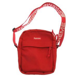 SUPREME(シュプリーム)18SS Shoulder Bag ロゴテープ ショルダーバッグ レッド|shopbring