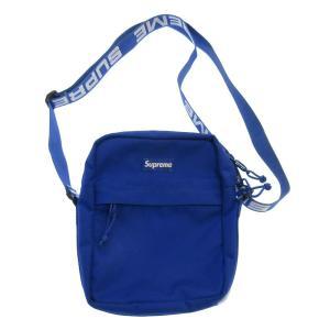 SUPREME(シュプリーム)18SS Shoulder Bag ロゴテープ ショルダーバッグ ブルー|shopbring