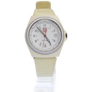 LUMINOX(ルミノックス)プラスチックベゼルクオーツウォッチ ホワイト 腕時計|shopbring