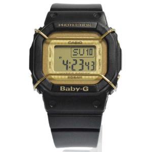 CASIO(カシオ)Baby‐G ラバースコレクション BGD−500LC デジタルウォッチ 腕時計 ブラックxゴールド|shopbring