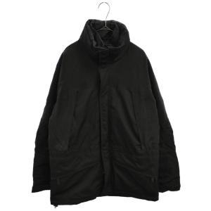MONCLER(モンクレール)ライナー付きダウンコート ブラック|shopbring