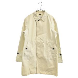 nanamica(ナナミカ)ゴアテックス ステンカラーコート ホワイト|shopbring