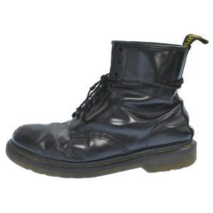 Dr.Martens(ドクターマーチン)8ホールレザーブーツ ブラック EU43/UK9|shopbring
