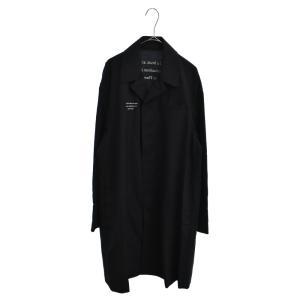 UNDERCOVER (アンダーカバー) 20SS Dylan Thomas 刺繍ステンカラーロングコート ブラック UCY4301-4|shopbring