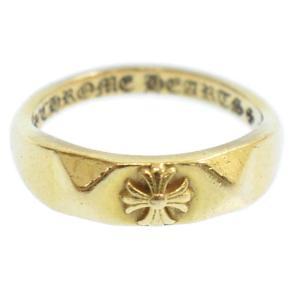 CHROME HEARTS (クロムハーツ) 22K ピラミッドバブルガムリング ゴールド 指輪|shopbring