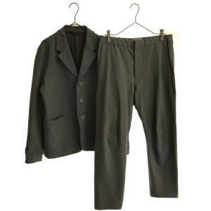 YAECA (ヤエカ) ERGONOMIC セットアップスーツ グレー テーラードジャ|shopbring