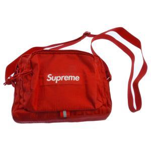 SUPREME (シュプリーム) 19SS Shoulder Bag ボックスロゴナイロンショルダーバッグ レッド|shopbring