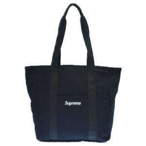 SUPREME (シュプリーム) 20AW Canvas Tote ボックスロゴ キャンバストートバッグ ブラック|shopbring