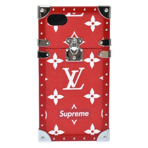 SUPREME (シュプリーム) 17AW LOUIS VUITTON iphone7 EYE-TRUNK FOR IPHONE 7 iPhoneケース モノグラムアイトランク M67758 レッド|shopbring