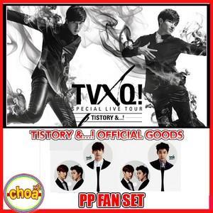 東方神起 うちわ TVXQ! SPECIAL LIVE TOUR IN SEOUL T1STORY &...! アンコールコンサート公式グッズ☆ポストカード付|shopchoax2
