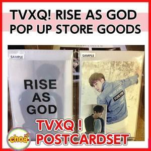 東方神起 ポストカードセット RISE AS GOD L-HOLDER [SM POP UP STORE GOODS] 公式グッズ|shopchoax2