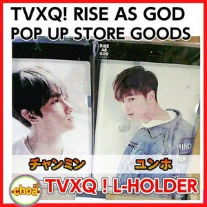 東方神起 クリアファイル RISE AS GOD L-HOLDER [SM POP UP STORE GOODS] 公式グッズ|shopchoax2