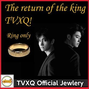 東方神起 TVXQ Official Jewlery / リング TVXQ! The King  ジュエリー 公式 WhiteGold ring tvxq accessory|shopchoax2