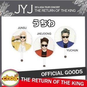 JYJ うちわ 2014 Concert In Seoul 'THE RETURN OF THE KING' ソウルコンサートグッズ 公式ピケット|shopchoax2