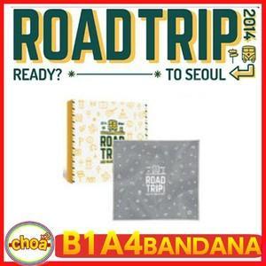 B1A4 バンダナ 2014 B1A4 ROAD TRIP TO SEOUL 公式グッズ b1a4|shopchoax2