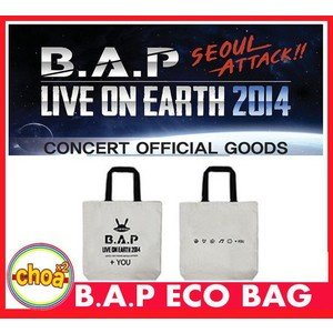 B.A.P エコバッグ(ECO BAG) LIVE ON EARTH SEOUL 2014 bap公式グッズ|shopchoax2