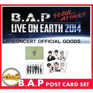 B.A.P はがきセット LIVE ON EARTH SEOUL 2014 bap公式グッズ|shopchoax2