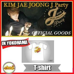 JYJ キム・ジェジュン 2015 公式コンサート Tシャツ 2015 KIM JAE JOONG J-PARTY In Yokohama,SEOUL グッズ|shopchoax2