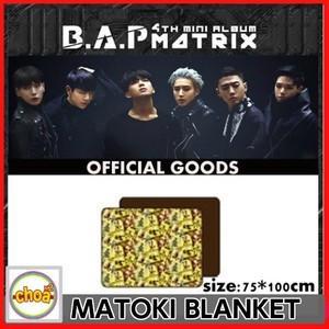 B.A.P MATOKI ブランケット 4TH MINI ALBUM MATRIX OFFICIAL GOODS|shopchoax2