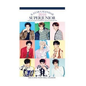 送料無料!SUPER JUNIOR 2016年(平成28年)壁掛けカレンダー (2016 K-STAR PHOTO 壁掛けカレンダー)|shopchoax2