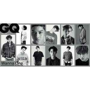 韓国雑誌 GQ Korea(ジーキュー)2017年 11月号 (WANNA ONE/画報,記事掲載)|shopchoax2