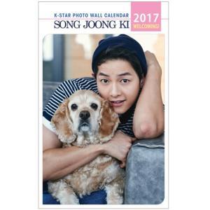 ソンジュンギ 2017年壁掛けカレンダー K-STAR PHOTO WALL CALENDAR 2017|shopchoax2