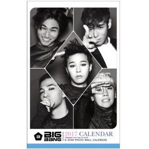 BIGBANG ビックバン 2017年壁掛けカレンダー K-STAR PHOTO WALL CALENDAR 2017|shopchoax2