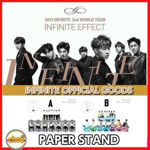 INFINITE ぺーパースタンド 2015 2nd WORLD TOUR INFINITE EFFECT 公式グッズ|shopchoax2