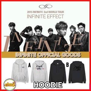 代引き送料、手数料無料!INFINITE フードパーカー 2015 2nd WORLD TOUR INFINITE EFFECT 公式グッズ|shopchoax2