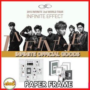 INFINITE ペーパーフレーム 2015 2nd WORLD TOUR INFINITE EFFECT 公式グッズ|shopchoax2