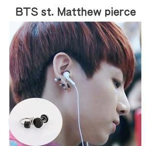 BTS スタイル Matthew ピアス / barbell/ dumbbell/ bts アクセサリー|shopchoax2