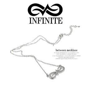 INFINITE(インフィニット)/between ネックレス シルバー|shopchoax2