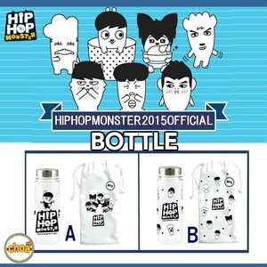 BTS HIPHOP MONSTER ボトルセット 2015 HIP HOP MONSTER NEW OFFICIAL GOODS|shopchoax2