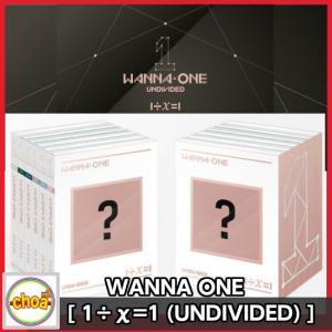 WANNA ONE (ワナワン) SPECIAL ALBUM [ 1÷χ=1 (UNDIVIDED) ] アルバムカバー 6種中 ランダム ポスター付き|shopchoax2