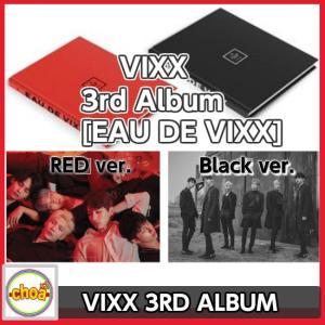 VIXX (ビックス) -3RD ALBUM『EAU DE VIXX』REDver. ,BLACKver.ランダム+初回ポスター付き / 3rd album CD|shopchoax2