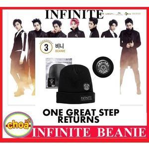 INFINITE ニット帽 2014 INFINITE 1st WORLD TOUR [ONE GREAT STEP] インフィニット 公式グッズ|shopchoax2