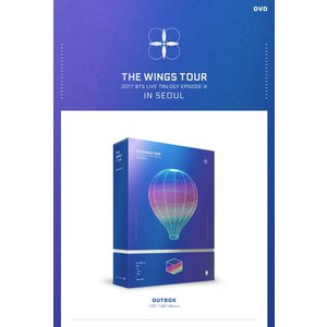 2017 BTS LIVE TRILOGY EPISODE III THE WINGS TOUR IN SEOUL CONCERT DVD (3 DISC)  防弾少年団 bangtan|shopchoax2