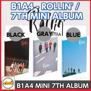 B1A4 -ミニ 7集 [Rollin'](7th Mini Album) [BLACKver. /GRAYver./BLUEver.3バージョンランダム発送]|shopchoax2