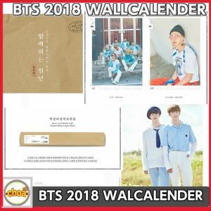 BTS 2018 WALL CALENDER/ SEASON'S GREETINGS 限定版 防弾少年団 壁掛け 公式カレンダー|shopchoax2